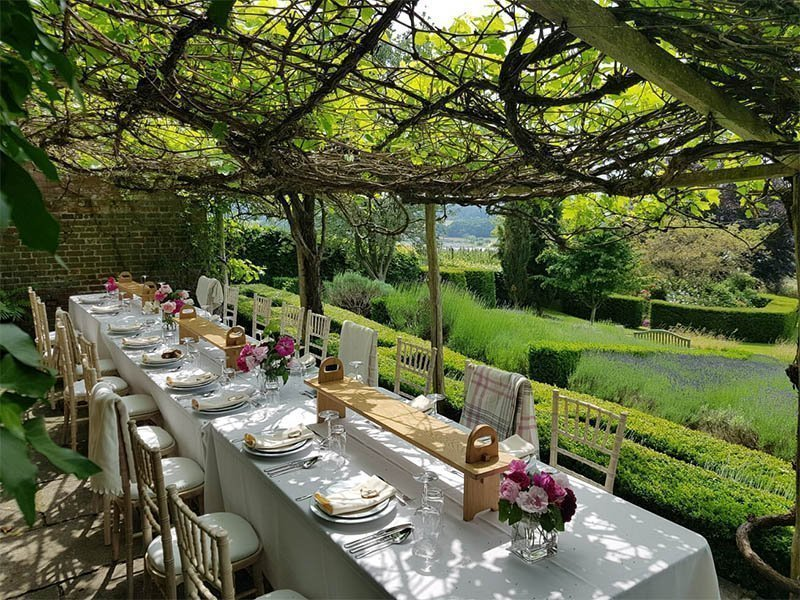 garden party in Kent