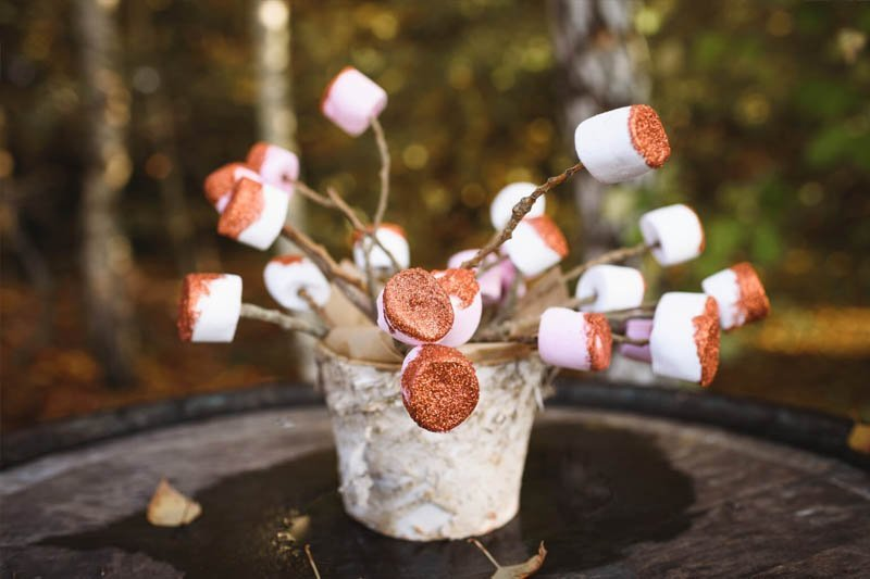 toasted marshmallows for wedding