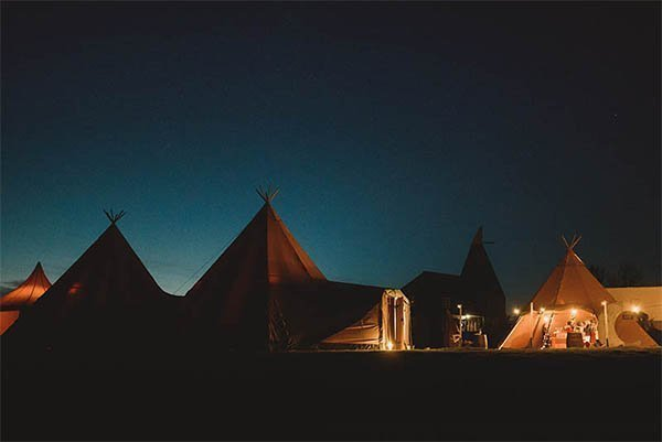 venue management and tipi hire