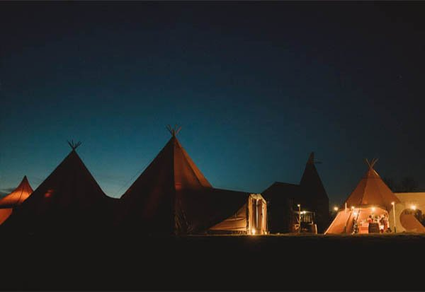 wedding marquees and tipi hire