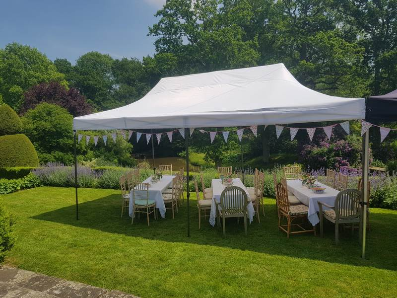 Garden Party Caterer in Kent 20181