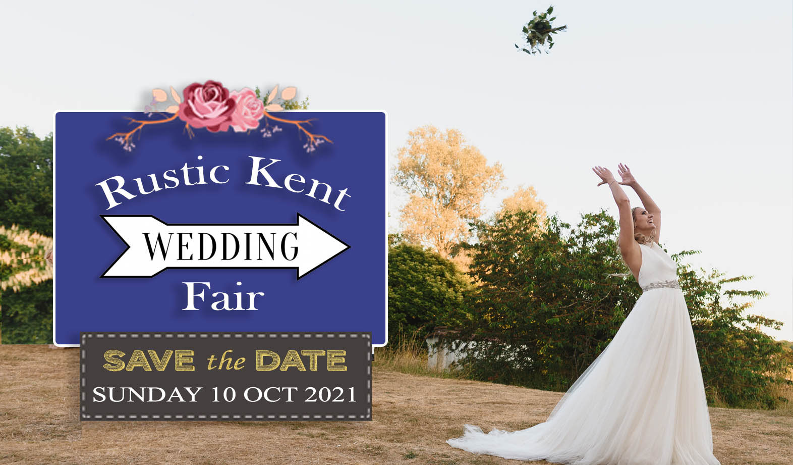 Rustic Kent Wedding - Sunday 10 October 2021